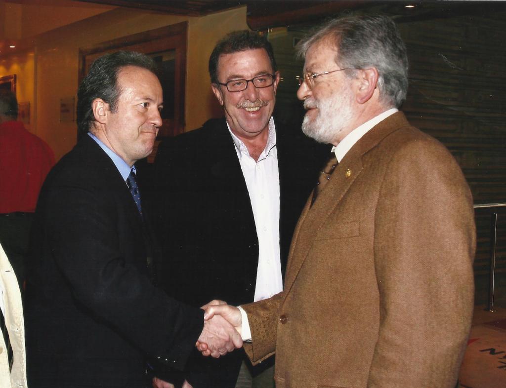 Con Ibarra y Campos Pámpano, 2007