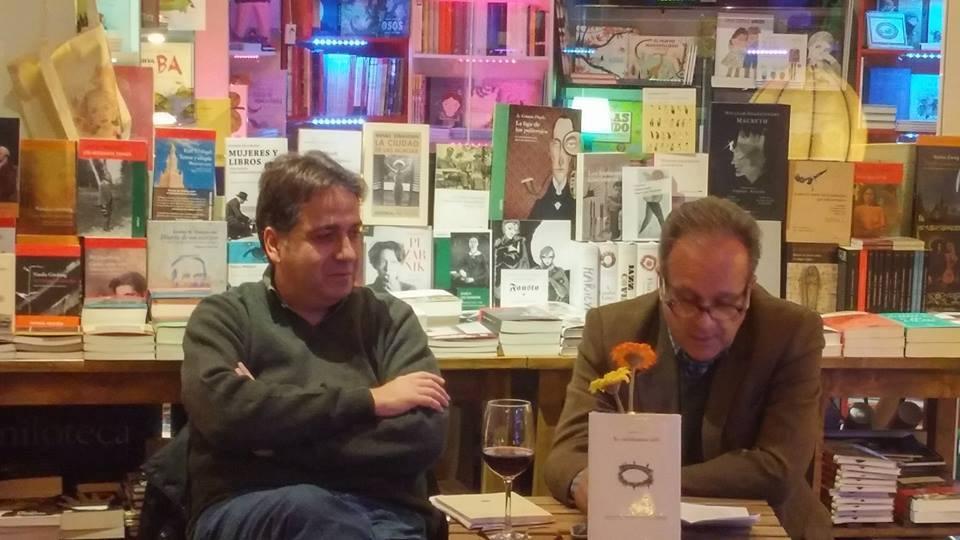 Con Jordi Doce en La Puerta de Tannhauser, 2016