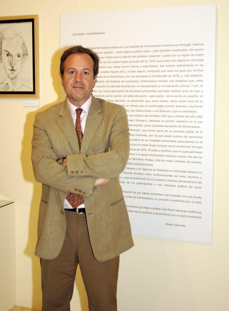 En Barcelona, 2006. Exposición homenaje a José María Valverde