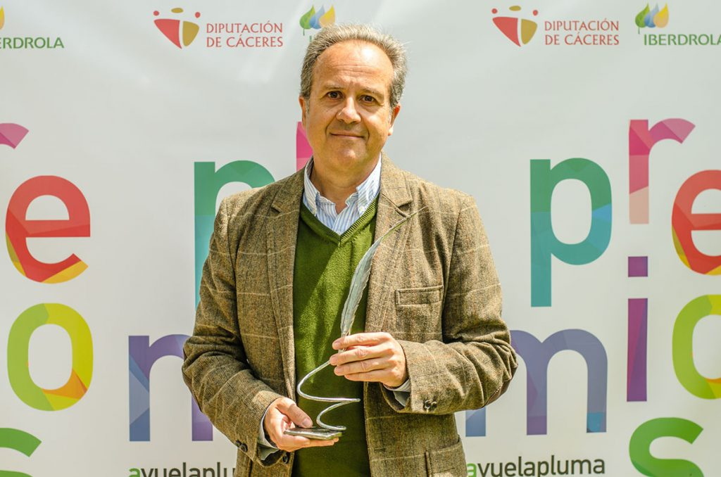Entrega del Premio Avuelapluma. Cáceres, 2015