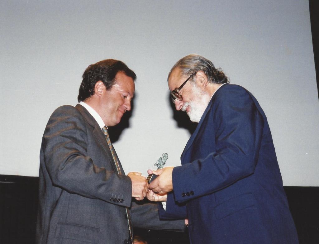 Entrega del Premio Extremadura a la Creación. Cáceres, 2000