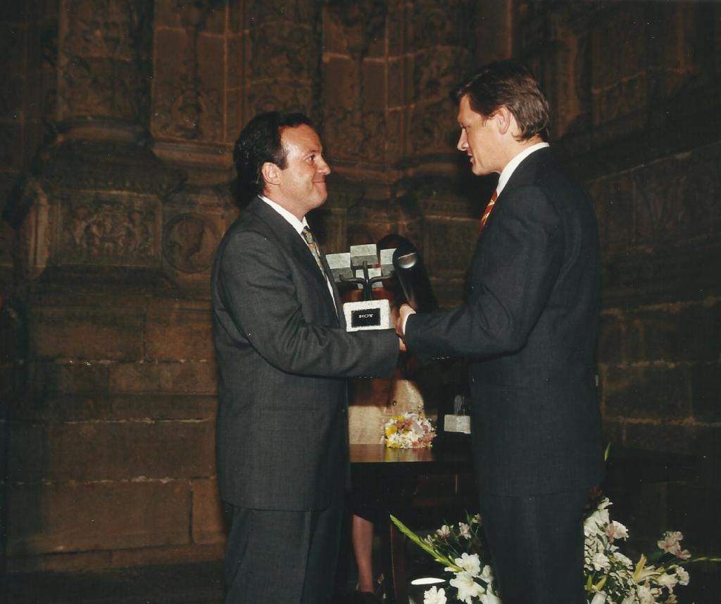 Entrega del Premio Extremeño de HOY, 2000